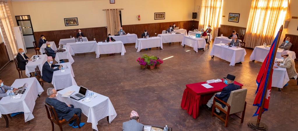 मन्त्रीपरिषद्को बैठक जारी लकडाउन लम्बाउने विषयमा छलफल
