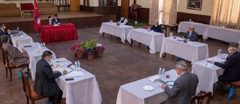 आपतकालिन : नेकपा सचिवालयको बैठक बस्दै