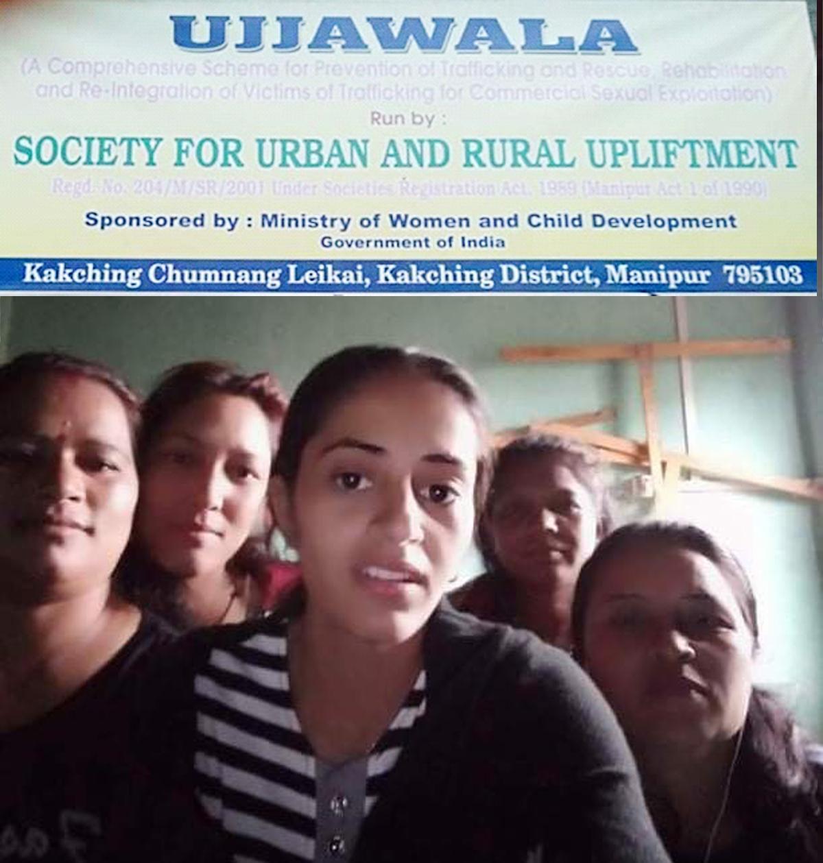 भारतीय एक NGO द्धारा भारत मनिपुरस्थित क्चिङमा ५ नेपाली चेली नजरबन्दमा