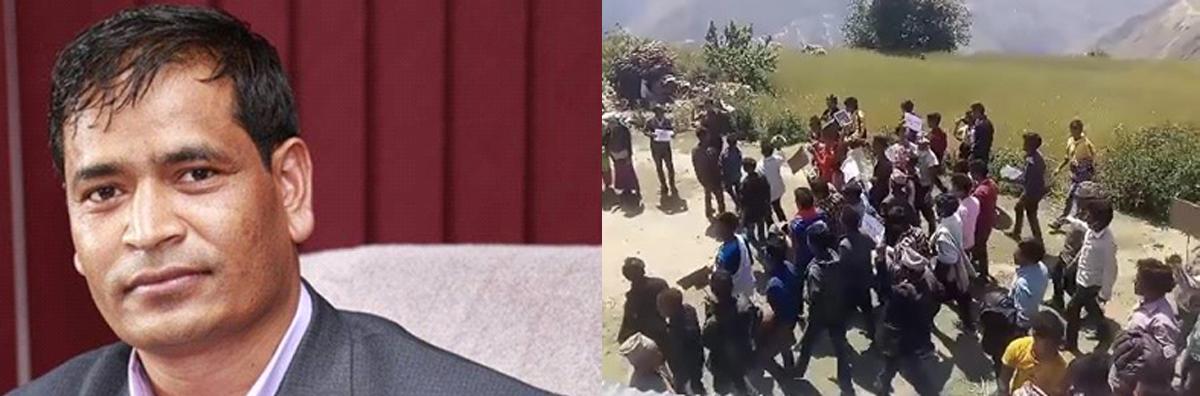 पलाता घटानाले मुख्यमन्त्री शाहीको राजनीनामाको माग