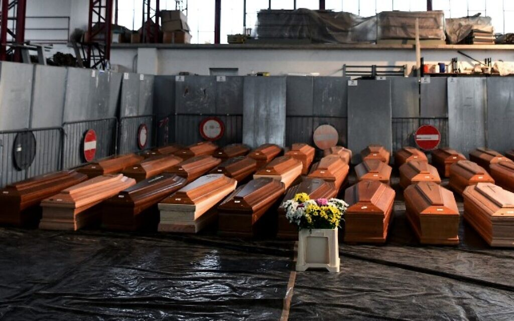 Coffins of Corona