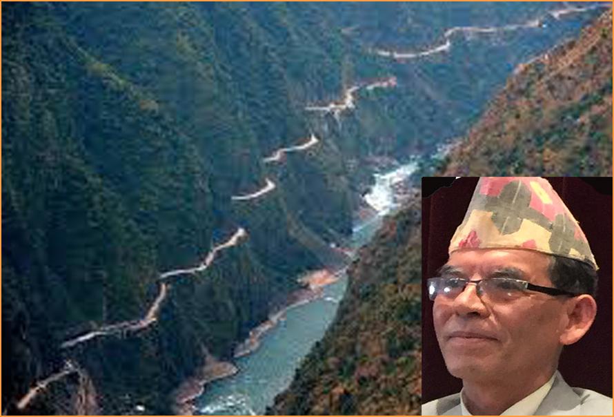 कर्णाली नदी –कैलाशदेखि गंगासम्म