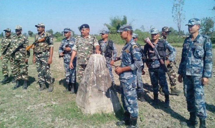 भारतीय तस्करको निसाना सशस्त्र प्रहरी