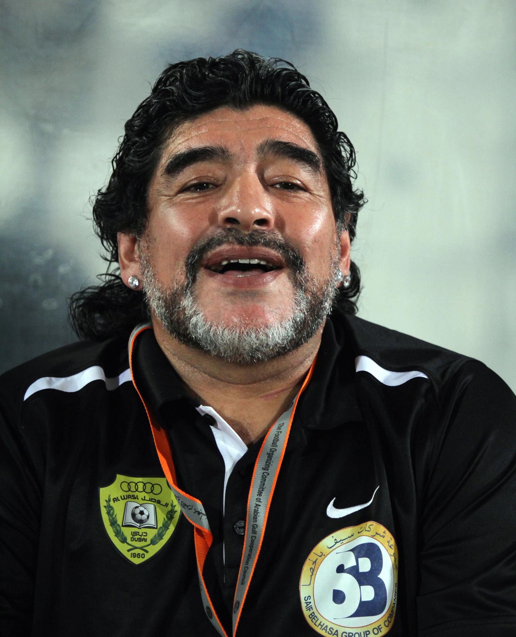फुटबलर डिएगो म्याराडोनाको निधन
