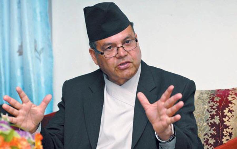 सुखी नेपाली, सम्बृद्ध नेपाल मैले तयार गरेको नारा हो : पुर्वप्रधानमन्त्री झलनाथ खनाल