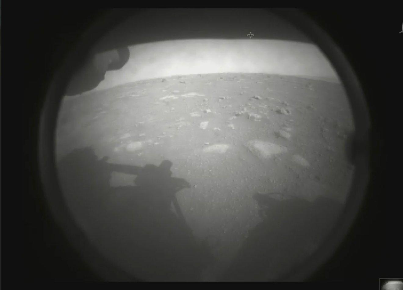 नासाको अन्तरिक्ष यानले पठायो ४७ करोड किलोमिटर टाढाको मंगल ग्रहबाट तस्बिर